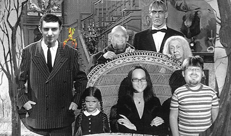 DUtS as The Addams Family